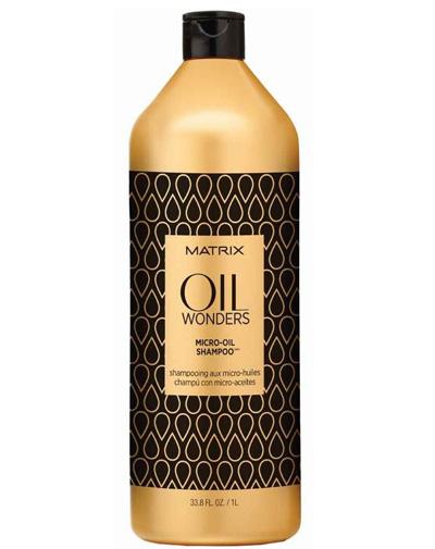 Matrix  Oil Wonders Легкий шампунь с микро-каплями масла
