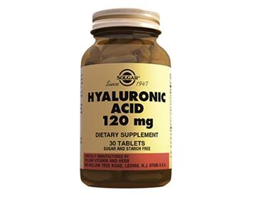 Solgar Гиалоурановая кислота, для профилактики возрастных изменений кожи, хрящей и суставов 120мг 30 таблет