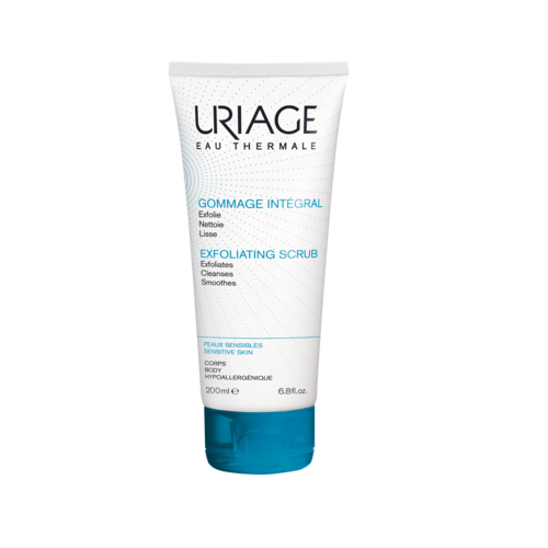 Uriage  Гоммаж-интеграль мягкий гель-эксфолиант для лица и тела 200мл