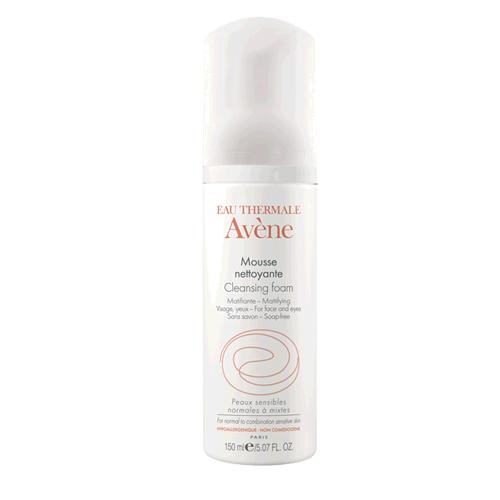 Avene Очищающая пенка для лица и области вокруг глаз