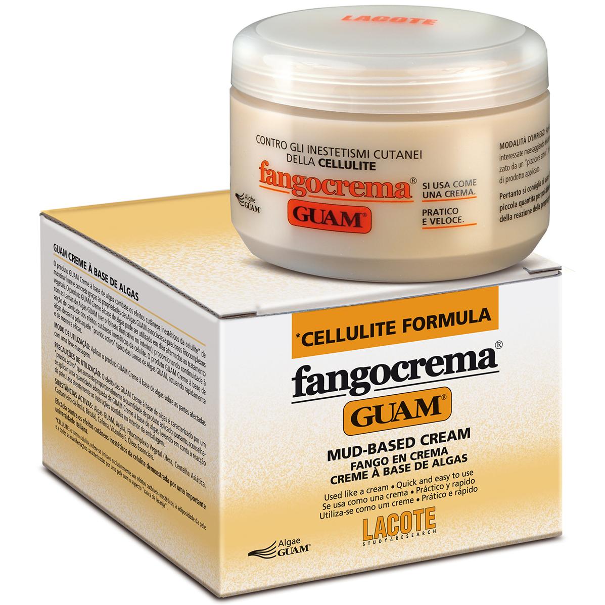 Guam Fangocrema Крем антицеллюлитный с разгоревающим эффектом на основе грязи 300 мл