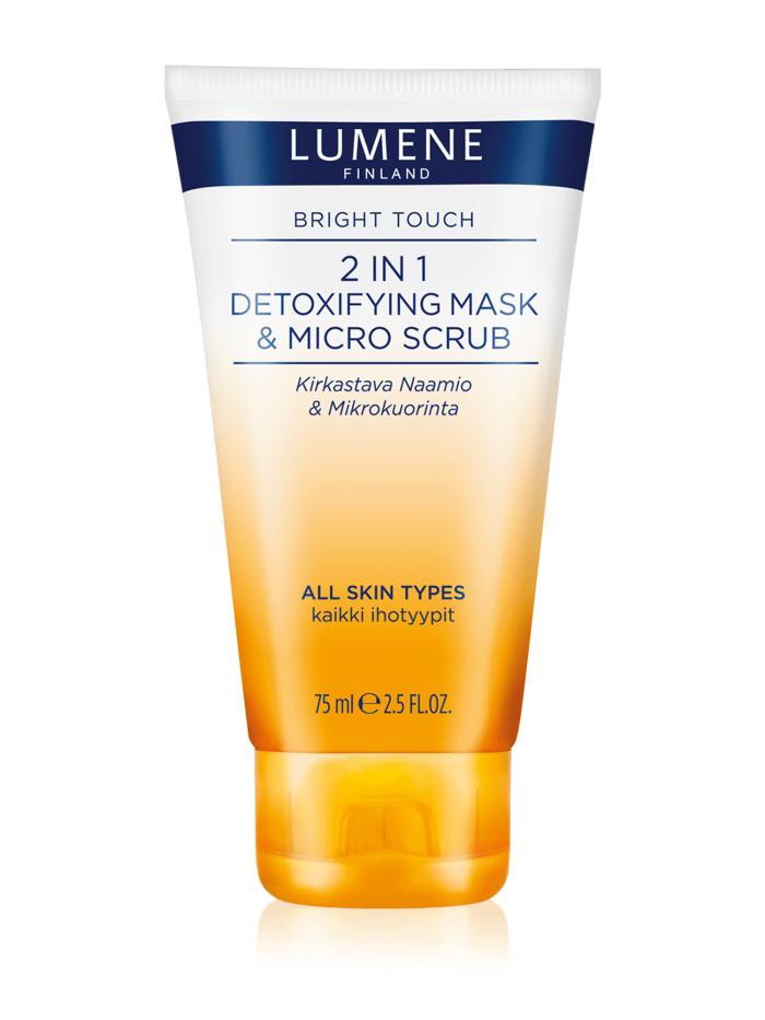 Lumene  Детокс-маска и деликатный скраб