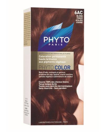 Phytosolba Фитосольба фитоколор краска для волос оттенок 6ac темный блонд медь-красное дерево