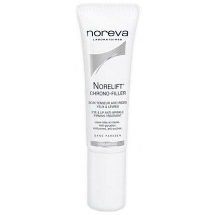 Noreva Норелифт Хроно-филлер Крем укрепляющий для ухода за контуром глаз и губ 10 мл