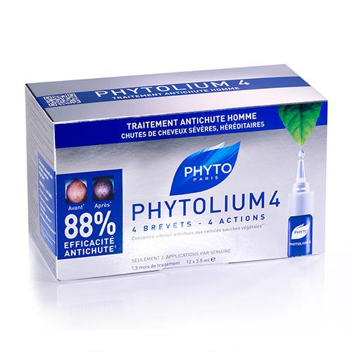 Phytosolba  Фитолиум 4 сыворотка против выпадения волос (12 ампул)