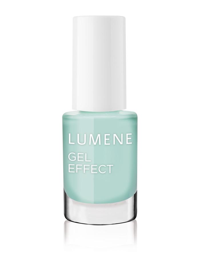 Lumene  Лак для ногтей с гелевым эффектом / №06 Мятный сироп Вессення коллекция!