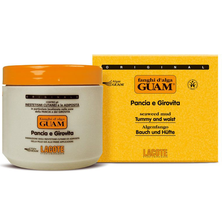 Guam Fanghi dAlga Маска антицеллюлитная для живота и талии 500 г