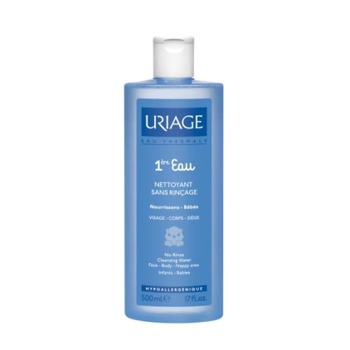 Uriage  Первая вода - очищающая вода для детей и новорожденных 500 мл