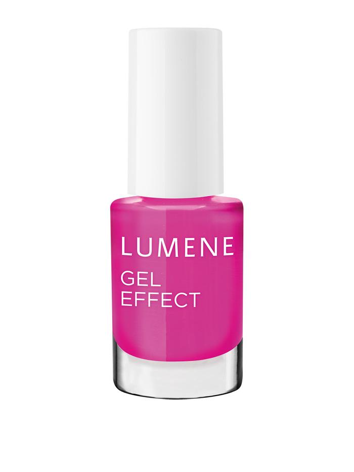 Lumene  Лак для ногтей с гелевым эффектом / №17 Спелая малина