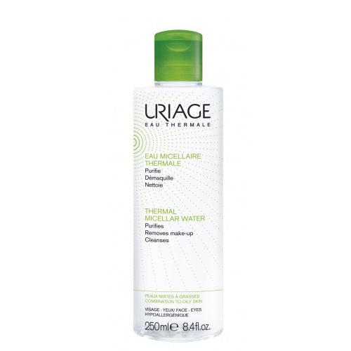 Uriage  Мицеллярная вода очищающая для комбинированной и жирной кожи 250 мл
