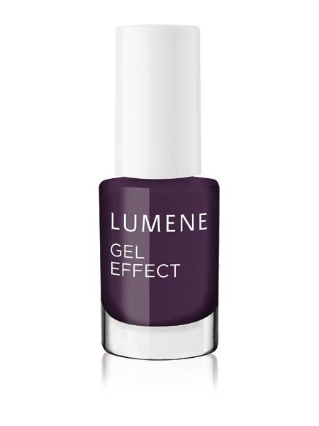 Lumene Лак для ногтей с гелевым эффектом / №41 Dark Berry Новогодняя коллекция!