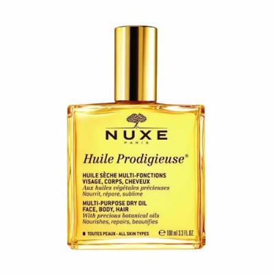 Nuxe  Продижьез Сухое масло для лица, тела и волос Новая формула, 100 мл