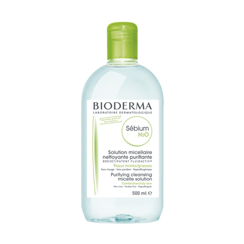 Bioderma Очищающая вода себиум h2o, 500 мл