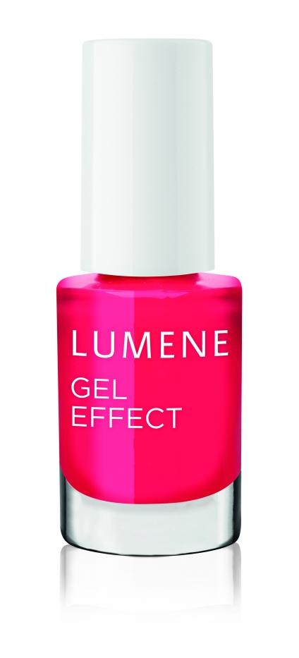 Lumene  Лак для ногтей с гелевым эффектом / №07 Цветущий сад