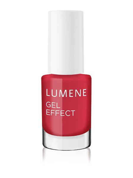 Lumene Лак для ногтей с гелевым эффектом / №40 Bright Berry Новогодняя коллекция!