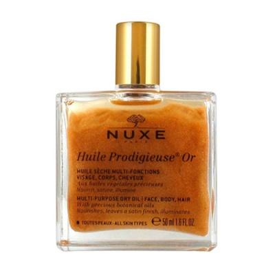 Nuxe  Продижьез Золотое масло для лица, тела и волос Новая формула, 50 мл
