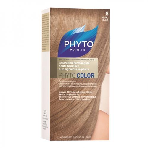Phytosolba  Фитоколор  краска для волос светлый блонд 8