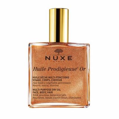 Nuxe  Продижьез Золотое масло для лица, тела и волос Новая формула, 100 мл