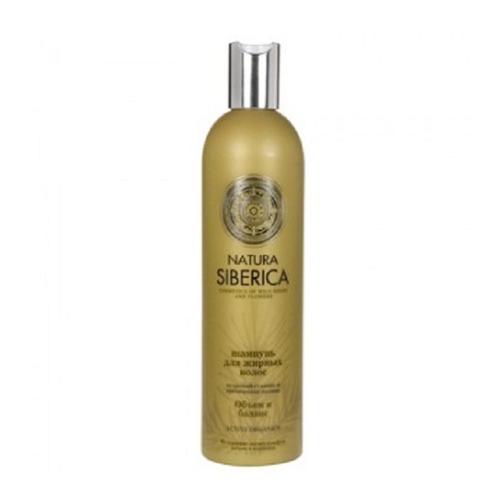 Natura Siberica  Шампунь для жирных волос Объем и баланс 400 мл