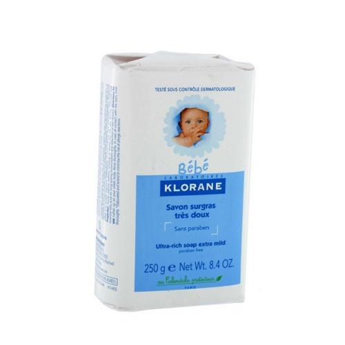 Klorane  Бебе Детское сверхпитательное мыло 250 г