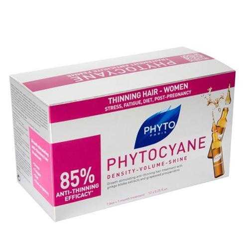 Phytosolba Фитоциан средство против выпадения и старения волос у женщин 12 ампул